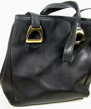 SAC LANCEL CUIR NOIRE VINTAGE COLLECTION