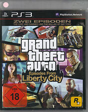 GRAND Theft Auto; Episodes from Liberty City (Playstation 3)