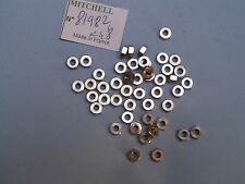 48 LOCK NUT RELL PART 81982 ECROU 498 & autres MOULINETS CARRETE BOBINA MITCHELL