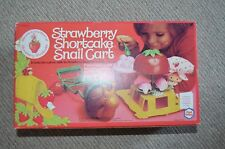 Vintage strawberry shortcake escargot panier nrfb