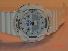 Casio G-Shock White GA-100A 5081 Mens Analog Watch