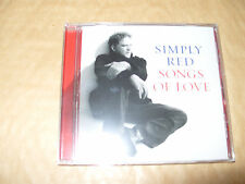 Simply Red - Songs of Love (CD 2010) 12 Track cd New And Sealed