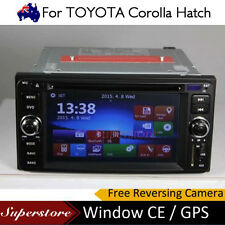 6.2 inch CAR DVD GPS Player Stereo  head unit For 2012-2015 TOYOTA Corolla Hatch