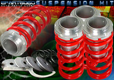 92-00 CIVIC/CRX/DEL SOL LOWERING COILOVER SPRING KIT RED