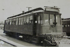 USA307 PACIFIC ELECTRIC (Red Car) RAILWAY San Pedro - TROLLEY No822 PHOTO - USA