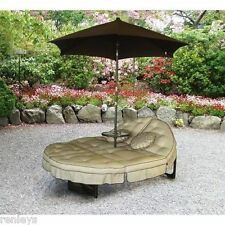 Outdoor Double Chaise Lounge Patio Furniture Pool Chair Deck Loveseat Lounger