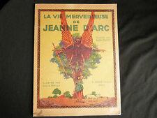 La vie Merveilleuse de Jeanne d'Arc Alex Coutet dessins Louis Bailly éd. Sirven