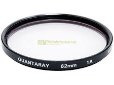 62mm. filtro Skylight 1A Quantaray. Sky Light filter.