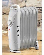 Radiateur électrique mobile avec chauffage à bain d'huile