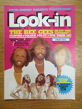 LOOK-IN MAGAZINE Comic 5 April 1980 The Bee Gees Stewart Copeland The Police