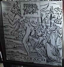 Morbid Angel Laibach Remixes LP Original press 1994 covenant domination altars