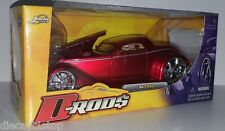 1:24 Scale JADA DRODS 1934 Ford Coupe - Candy Red !! OLD STOCK CLEARANCE !!
