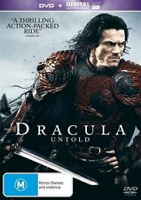DVD + NO ULTRAVIOLET DRUCULA UNTOLD  LIKE NEW CONDITION FREE FAST POSTAGE