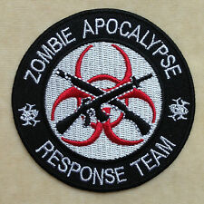 ZOMBIE RESIDENCE EVIL DEVIL EMBROIDERY IRON ON PATCH BADGE