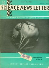 1958 Science News Letter Vol.73 No.2: Heart Action/Fallout Danger in North