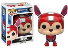 Funko Pop Games: Mega Man - Rush - Vinyl Action Figure 103 Collectible Toy 10347