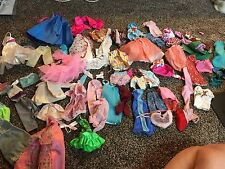 LARGE LOT of BARBIE DOLL CLOTHES DRESSES OUTFITS