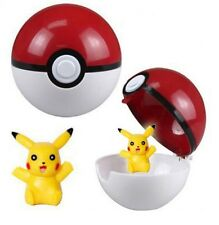 Pokemon Center Pokeball Kids Toys Pop-up Plastic Ball Figure Satoshi Cosplay NEW