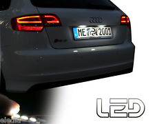 AUDI A4 B5 2 Ampoules LED blanc eclairage lumiere plaque immatriculation