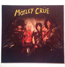 80's Heavy Metal Motley Crue tour Hard Rock Concert vTg Orig t-shirt iron-on NOS