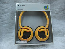 Nixon The Trooper Headband Headphones - Yellow