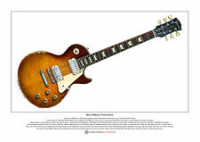 "Billy gibbons ""pearly gates's limited edition fine art imprimé A3 taille"