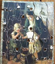 Antique Madmar Puzzle Original Box Artist Pothast Childhood Scroll Saw RARE