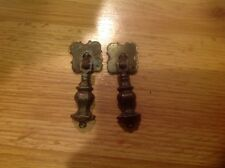 2 Beautiful Antique Drawer/Door Pull Handles