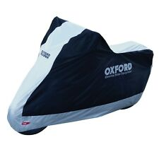 OXFORD BIKE MOTORCYCLE AQUATEX RAIN DUST COVER SIZE LARGE OUTDOOR INDOOR CV204