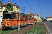 Original Photograph: Milan, Italy Interurban 552 at C.na Amata IB (5 x 7)
