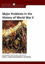 Major Problems in the History of World War II : Documents and Essays by...