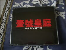 a941981 HK CD VCD Set 壹號皇庭 電視原聲帶 File of Justice TV Songs Faye Wong Sammi Cheng