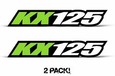AMR Racing Kawasaki KX 125 Swingarm Graphic Number Plate Decal Sticker Part