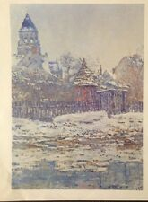 The Church at Vetheuil (Mini Print) By Claude Monet