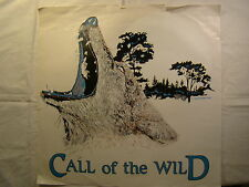 "Call of the Wild Wolf Howl 15"" X 15"" T Shirt Iron On Heat Thermal Transfer"