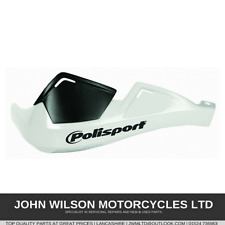 Honda XR600R 2000-2007 White Pair Polisport Handguard Hand Guards Protection