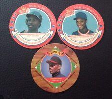 1989 King-B Tony Gwynn #21 & Darryl Strawberry #15 & 1995 Fred McGriff #13 Lot