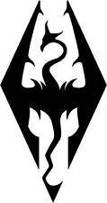 Skyrim Imperial vinyl sticker decal window laptop