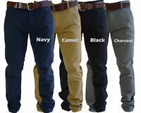 Men's Chino, Jeans, Trousers by Smith & Jones Chinos with free belt,