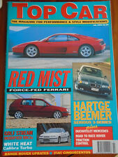 Top Car Jul 1994 Hatge BMW 320i, Lotec Porsche & Ferrari, Calibra Turbo
