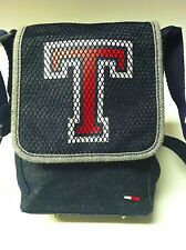 90's Tommy Hilfiger Signature Crossbody Mini Hipster Purse Bag Demin BTS