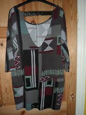 New ladies opened back oversized party top by Next fit sizes 14-16