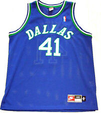 NEU Signed Autogramm NIKE Authentic Dirk Nowitzki NBA Trikot Player Jersey SZ XL