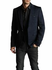 DIESEL BLACK GOLD JUPIPPI NAVY BLAZER SIZE 48 (M) 100% AUTHENTIC