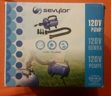 Sevylor 120V 120 Volt Pump 2.5 PSI