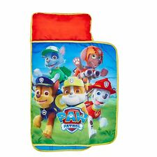 OFFICIAL PAW PATROL COSY WRAP NAP BED CHILDRENS READY BED WITH PILLOW AND COVER