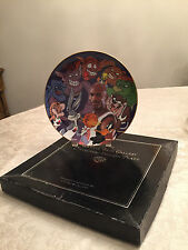 1996 WARNER BROS WB SPACE JAM COLLECTOR'S PLATE MICHAEL JORDAN LIMITED-ED. NM.