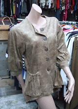 Joseph Ribkoff 10 BNWT Sumptuous Soft Faux Suede Animal Effect Button Top Jacket