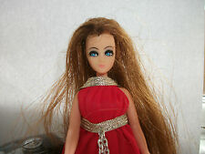 Pippa dawn doll-dawn lot V3-pretty longlocks en rouge chaîne mini