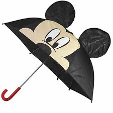 "Disney MICKEY MOUSE Childrens 26"" UMBRELLA w/ Pop up Ears"